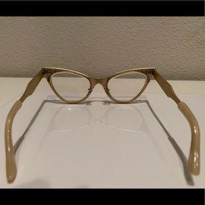 NA Accessories - True Vtg CAT EYE Style Frame EYE GLASSES